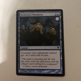 MTG - hysterical blindness
