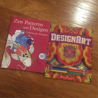 Coloring Books For Adults Hobby Lobby : Free: Adult Coloring NEW Books Zen Patterns Design Art & Pencils Hobby Lobby NEW! SHIPS FREE ...