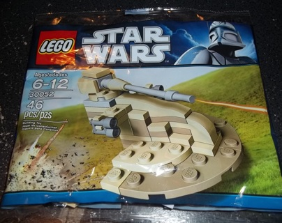 Free Nib Lego Star Wars Mini Aat Droid Tank Building Toys