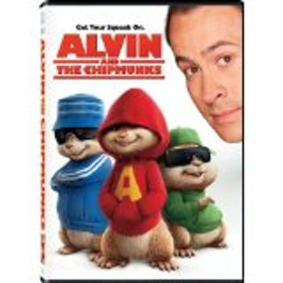 Alvin & the chipmunks dvd  wide and full screen