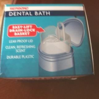 Dental Bath and Brush.