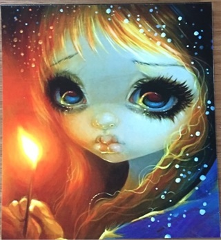 "BIG EYES WITH MATCH LIGHT - 3 x 4"" MAGNET"