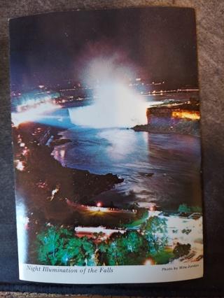 Night Illumination Of The Falls Postcard
