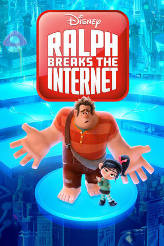 Ralph Breaks The Internet Disney HD iTunes Code