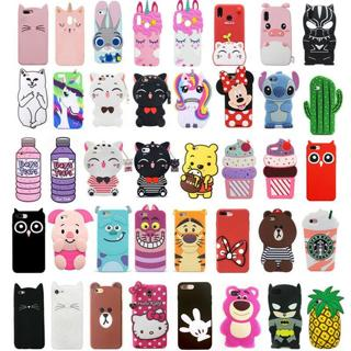 Cute 3D Animal Cartoon Soft Silicone Case Cover For Samsung Galaxy J3 J5 J7 2016