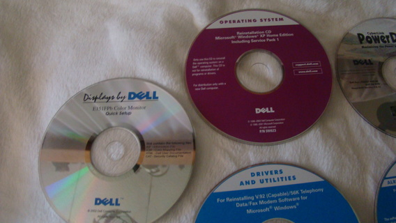 6 disc dell drivers and utilities software