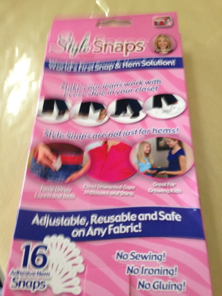 NIP  Have one to sell? Sell now Style Snaps Hem Snaps - 16 snaps As Seen on TV