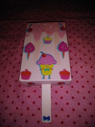 ❤♥❤50 BRAND NEW LARGE KAWAII PINK THEME SKATEBOARD STICKERS IN CUTE KAWAII POPSICLE BOX❤♥❤SET #2