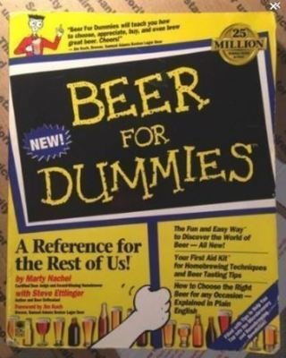 1 BEER FOR DUMMIES Book Great Gift Alcohol Beer Ale Malt Liquor FREE SHIPPING
