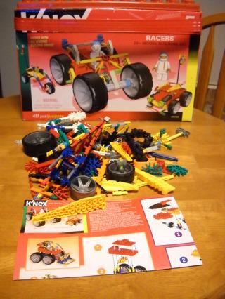 Knex Racer Set/Large Lot