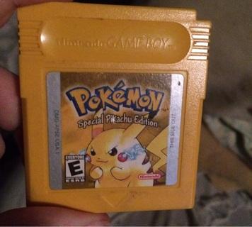 Pokemon special pikachu edition game