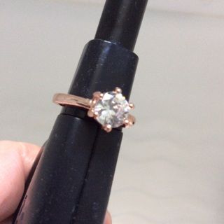 Rose Gold Color Ring .Size 6