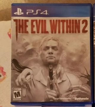 PS4 GAME Evil within 2 ps4 game EUC