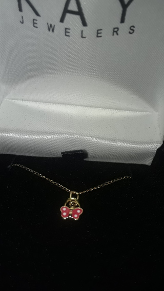 Children's Necklace 14K Yellow Children's Necklace 14K Yellow Gold Butterfly $64.99