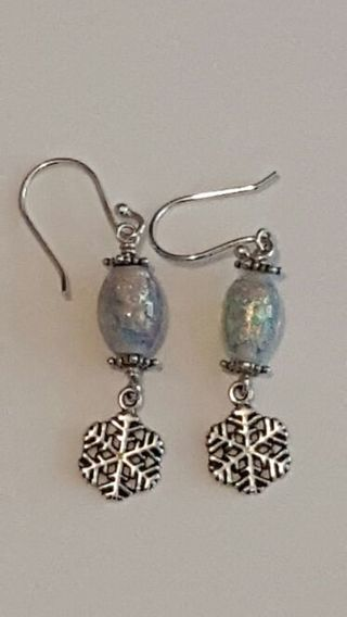 Vintage 925 Sterling silver earrings please see all pics