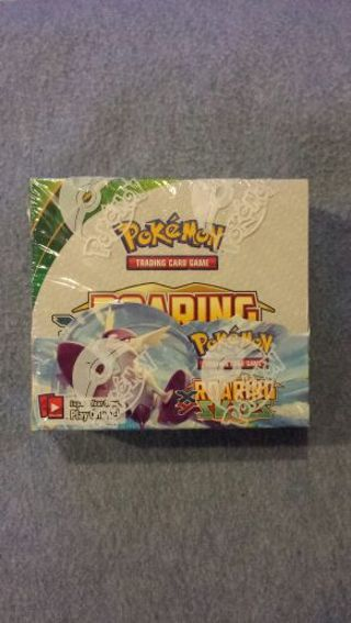 Roaring Skies Pokemon Cards Booster Box - 36 Booster Packs of Ten Cards Each
