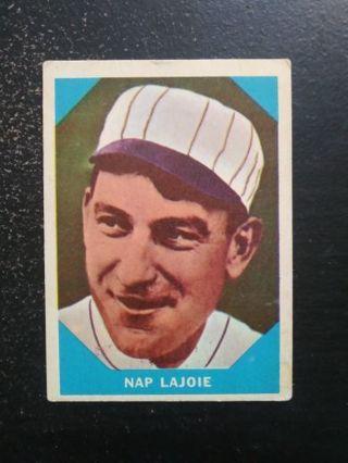 1960 Fleer #1 Nap Lajoie (HOF)(Indians)