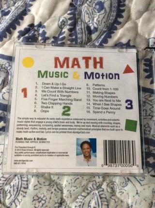 Music cd for math