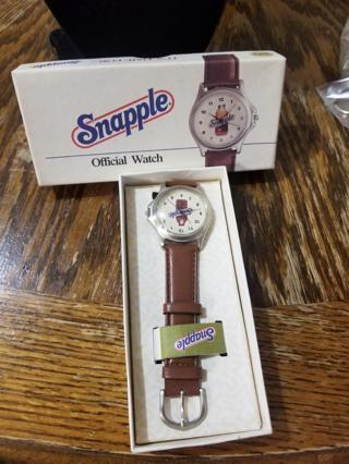 Collectors Snapple Watch BNIP
