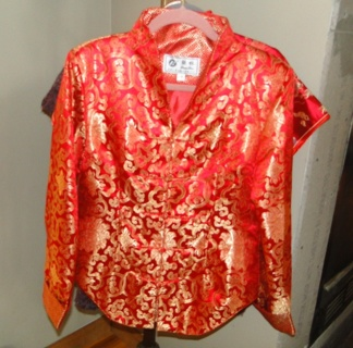Free: NEW LIAN LIN CHINESE BROCADE JACKET AUTHENTIC ASIAN APPAREL
