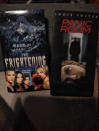 panic room movie and the frightening movie