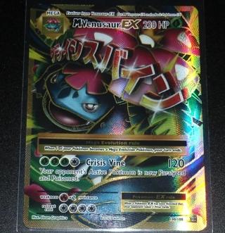 MEGA M Venusaur 100/108 XY Evolutions FULL ART Holo Pokemon Card NEAR MINT/MINT