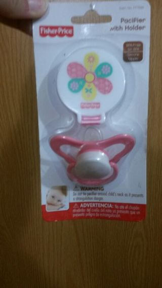 Fisher-Price Pacifier with holder