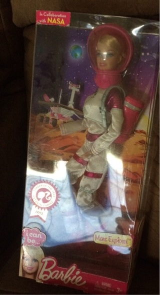 NASA Barbie 2013
