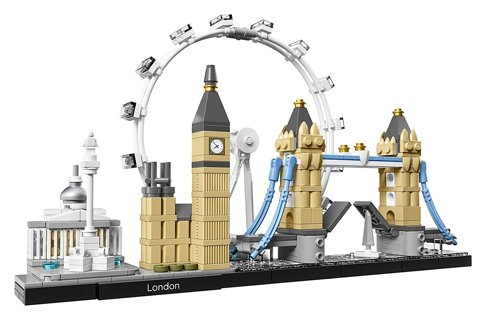 New LEGO Architecture London 21034 Building Kit
