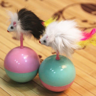 1Pc Funny Tumbler Mouse Toys Cats Kitties Pets Accessories Pet Toy Pop