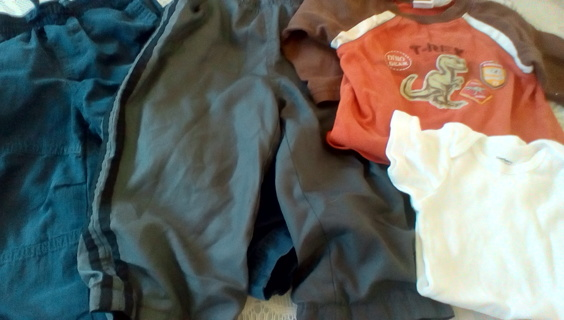 Boys Size 18 Months Clothing: GUC