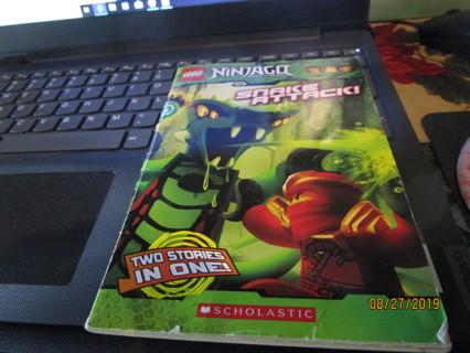 little boys lego ninjago kids story book