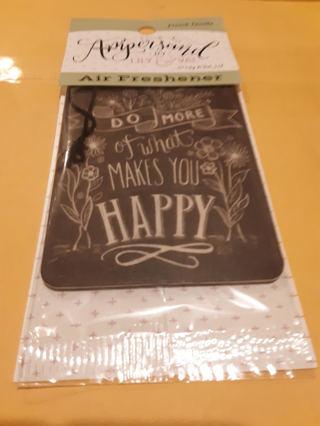 BNIP Inspirational Air Freshener French Vanilla