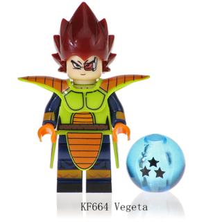 Dragon Ball Z Vegeta Building Blocks Kids Toys Collection