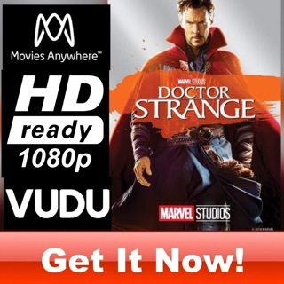 DOCTOR STRANGE HD MOVIES ANYWHERE OR VUDU CODE ONLY