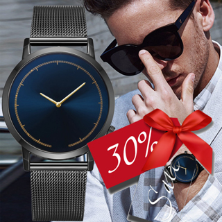 Mens Business Male Watch 2019 Fashion Classic Gold Quartz Stainless Steel Wrist