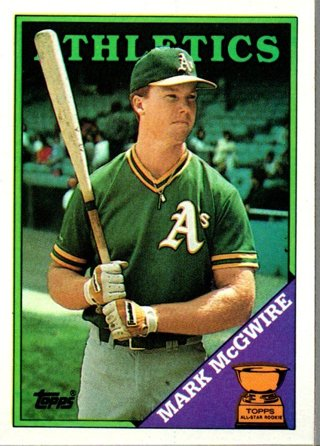 1988 Topps Mark Mcgwire #580
