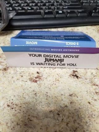 Digital movie code for jumanji next level