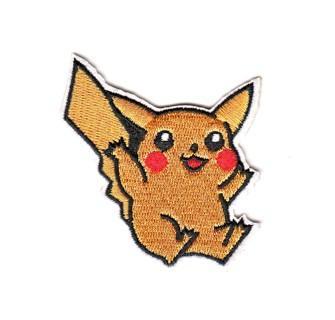 Pikachu Pokemon Embroidered Iron-On Patch