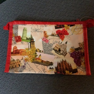 New cute little Canadian Pencil/Make-up bag!