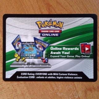 Pokemon TCG Online: 1 BREAKthrough booster code
