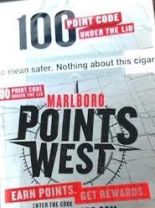 Free: Marlboro 100 Reward Points! Digital Delivery! - Rewards Points