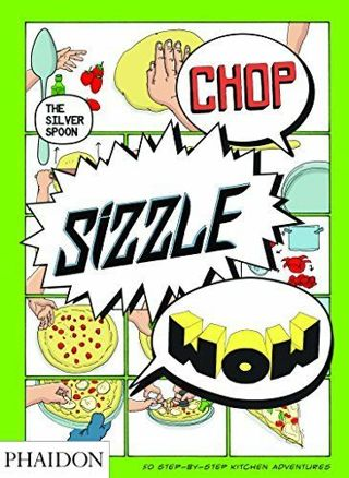 "❤♡❤♡❤♡BRAND NEW ""CHOP SIZZLE WOW"" COMIC COOKBOOK❤♡❤♡❤ONLY 1!"
