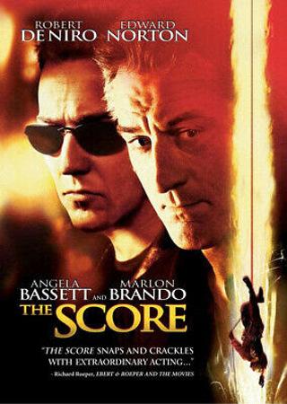 The Score - DVD - Action - Robert Deniro - Rated R