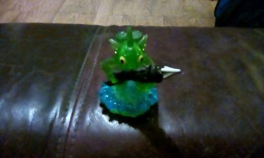 Collectible green armored gillgrunt