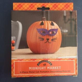 Halloween Pumpkin Decorating Kit - Cat *** New***