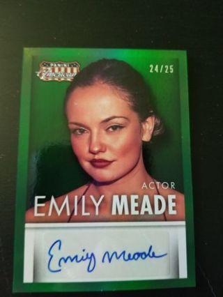 Emily meade autograph 24/25