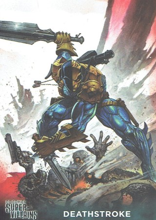 DC Comics Super Villains Collectible Card Deathstroke #26