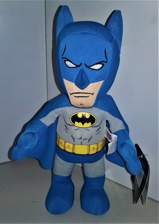 "DC Comics Bleacher Creatures stuffed BATMAN character doll - 10"" tall - with tags"