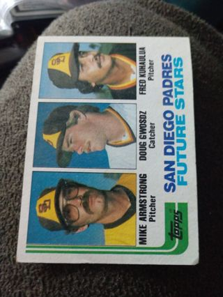 Baseball Card - Future Stars 1982